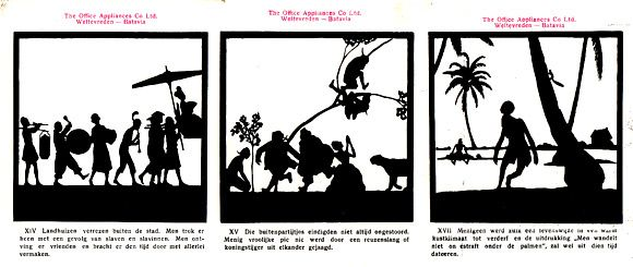 Ter Herinnering aan de Oud-Batavia Week, 1920