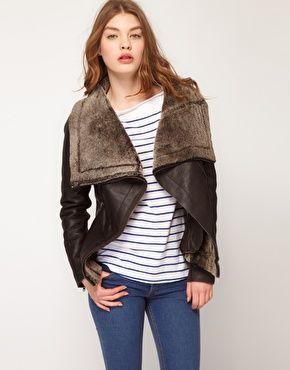 Muubaa Sheepskin Bronson Jacket