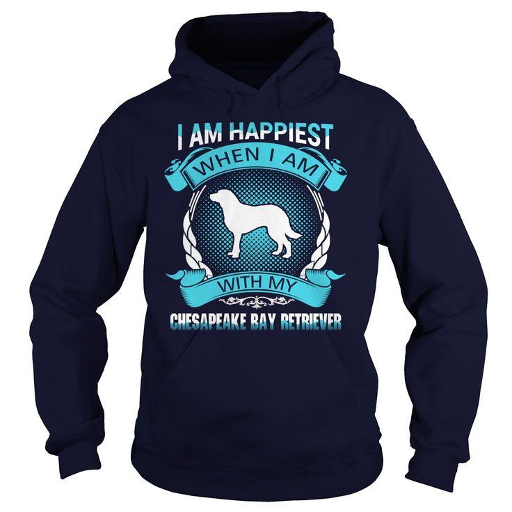 Happiest with my Chesapeake Bay Retriever