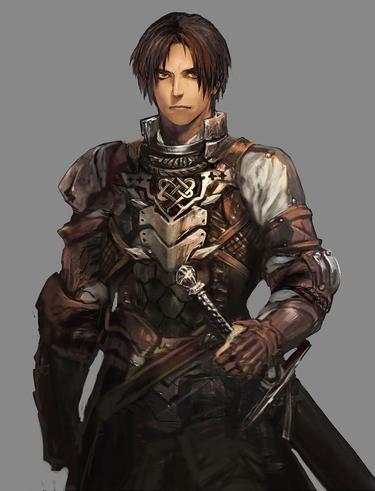 ✧ #characterconcepts ✧ Human Race - Stranger of Sword City [RPG]