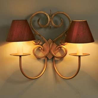 Double Jalousie Wall Light from www.jim-lawrence.co.uk #valentine