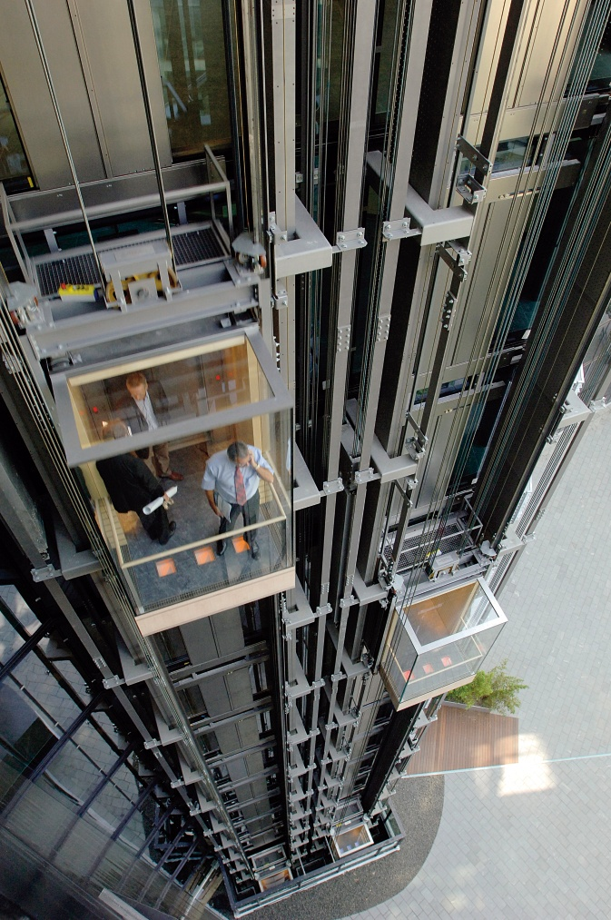 Twin Thyssenkrupp Elevator Italia Elevators Everywhere