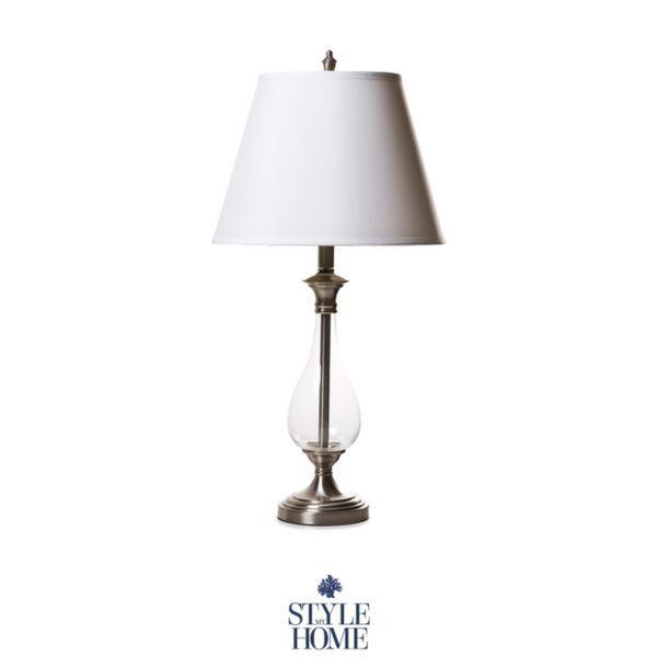 Hamptons Style Glass Table Lamp Glass Table Lamp Table Lamp Lamp