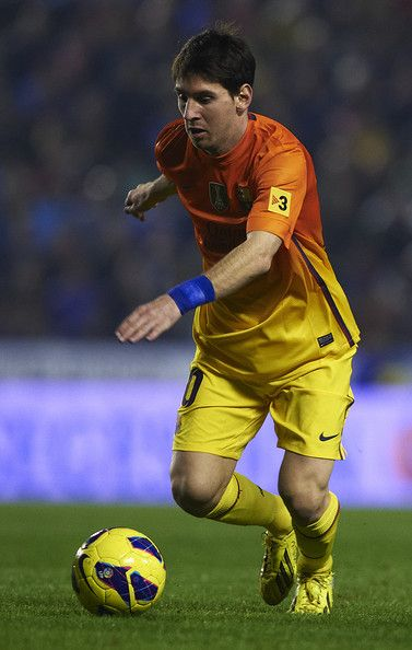 Lionel Messi FC Barcelona  One of my favorite soccer players.