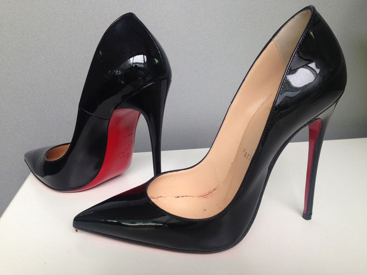 €515 – Christian Louboutin Black Heels – Brown Thomas – Grafton, Street, Dublin 2