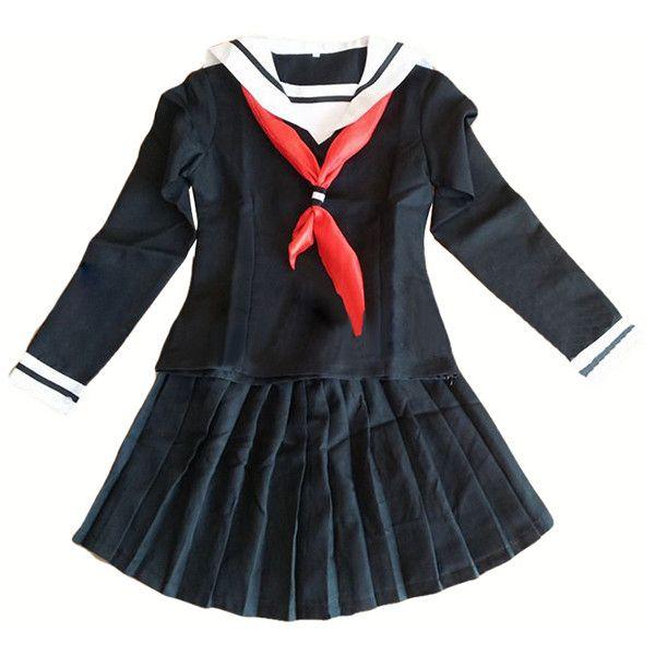 Womens school girl halloween costumes-1127