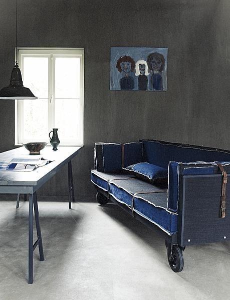 64 best denim sofas images on pinterest