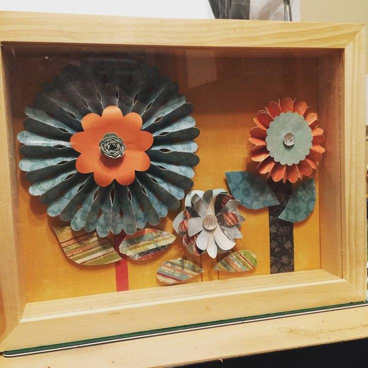 Make a Flower Shadowbox — Gab with Gaby
