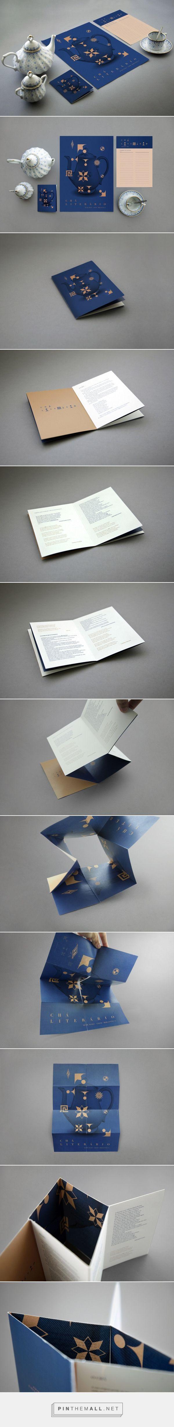 Chá Literário — Visual Identity