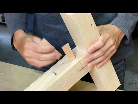 Japanese Woodworking Tips : Clever Alternative to Mortise and Tenon - YouTube