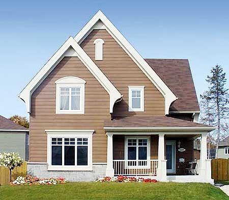 Elevation Whimsical House Plans Pinterest