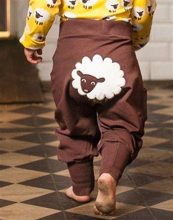 pants with lamb at back