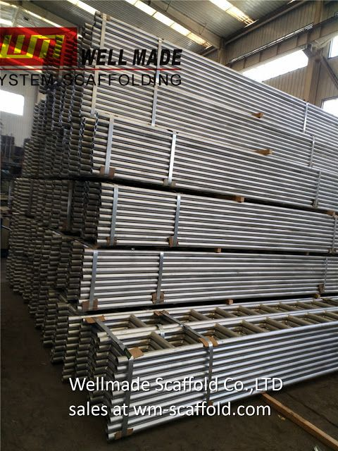 China Scaffolding Manufacturers: 300*6mtr Scaffold Ladder Beams to Saudi Arabia fro...