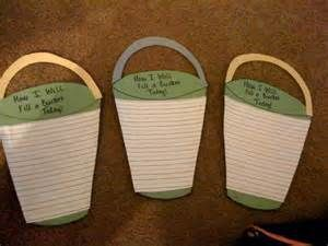 """Writing activity to go with """"Have you Filled a Bucket Today?"""" Have the ..."""