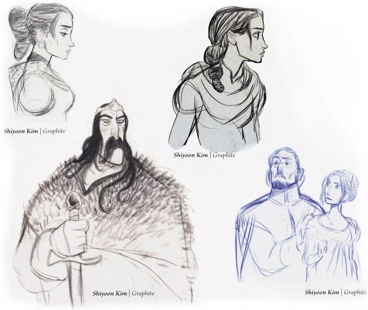 "Disney Tangled Character Design : ""tangled walt disney animation studios"