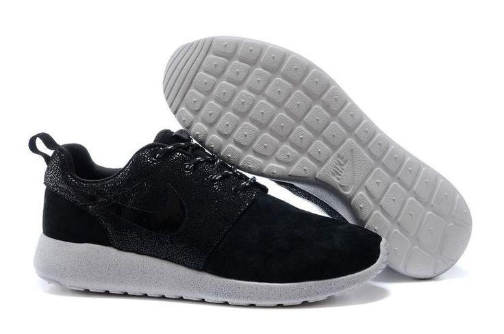 nike roshe run black men & women shoes at $78.88