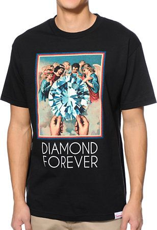 Diamond Supply Co. Forever Black Tee Shirt at Zumiez : PDP