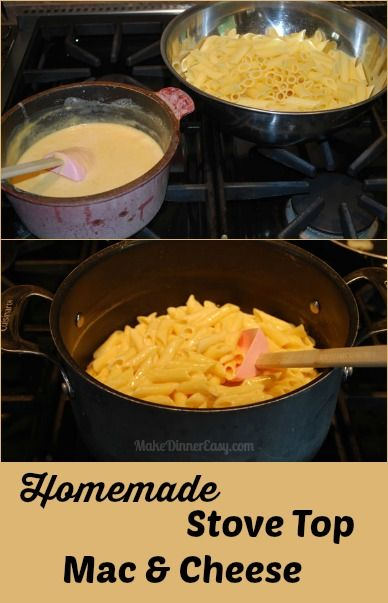 In about the same amount of time as it takes to make the stuff in the blue box, you can make this easy mac and cheese recipe!