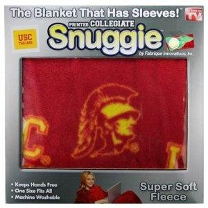 USC Snuggie--so sending him this...or making one with the Trojan helmet hood.