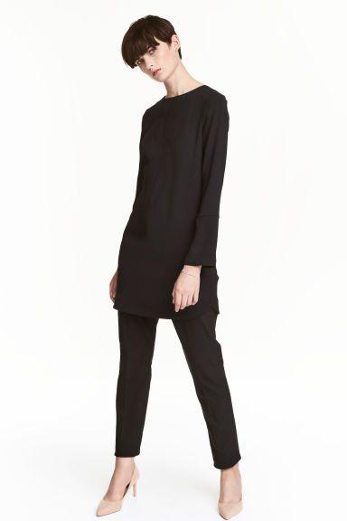 Krepowana sukienka | H&M
