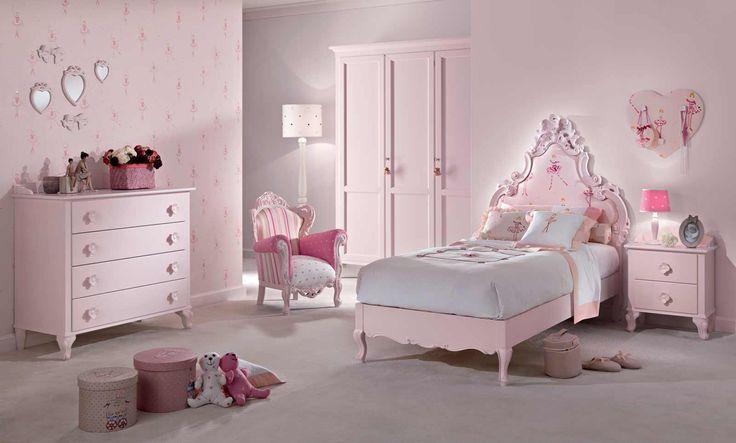 camera per bambine/bedroom for girls composizione 23