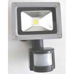 LAMPA LED HALOGEN NAŚWIETLACZ PROJEKTOR OŚWIETLACZ HALOPAK REFLEKTOR 10W Z CZUJKĄ RUCHU