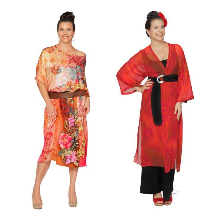 The many ways to wear the versatile Kaftan and Kimono from EcoDiva.com.au