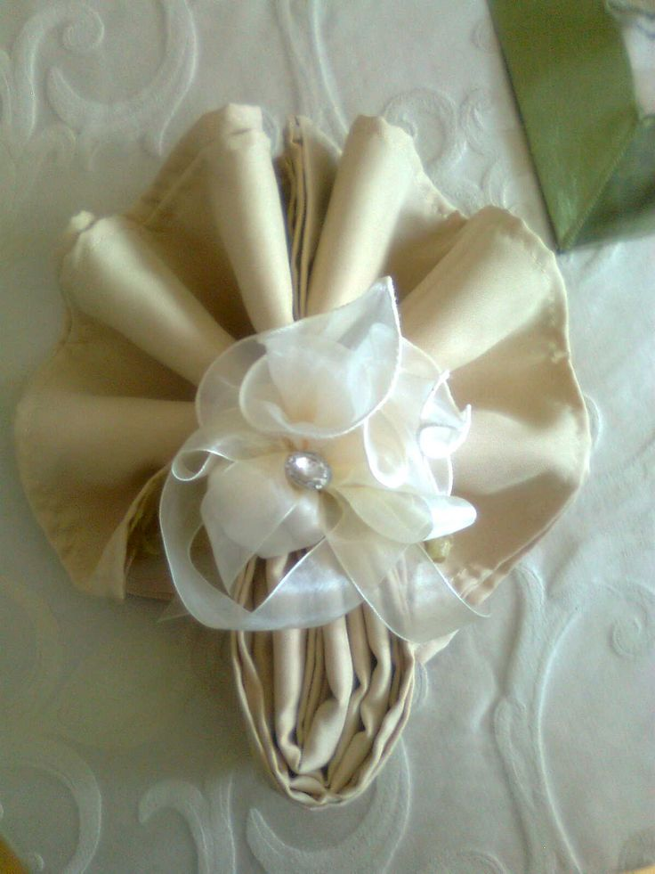 Linen Napkins Wedding Favor