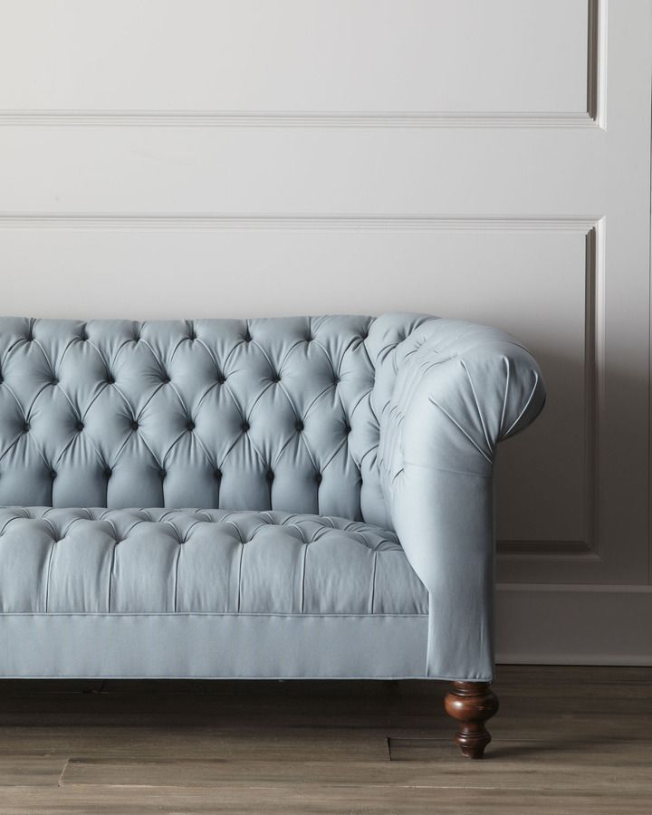 """I love everything about this gorgeous couch.  NM EXCLUSIVE """"Ellsworth"""" Tufted Sofa"""