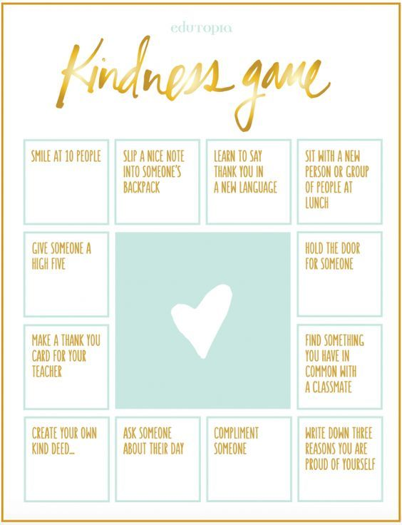 27 best images about Service and Kindness Games on Pinterest ...