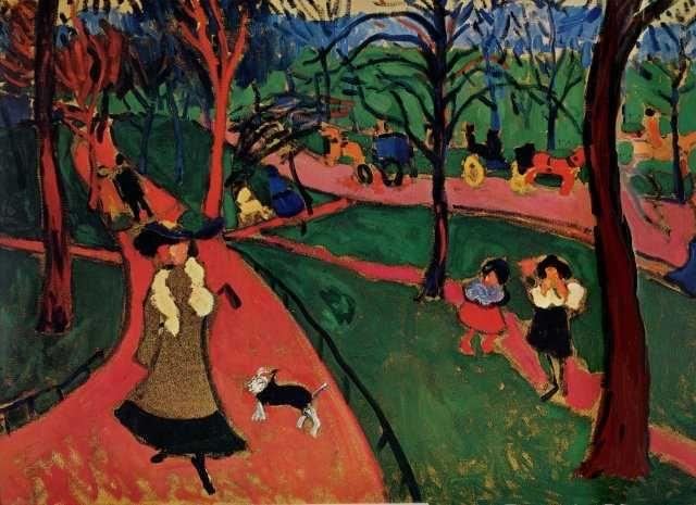 Artes Visuales en la Universidad: André Derain, Hyde Park