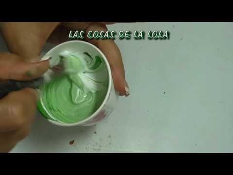 Curso de pintura clase 2ªA COMO HACER VEDIN, CARDENILLO PARA COBRE - YouTube