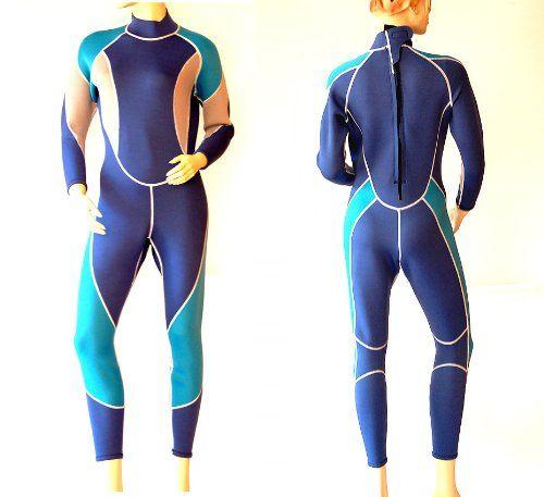 Damen 3mm Neoprenanzug Surfanzug lang Größe S / 36