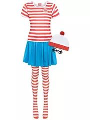 Adult Where's Wenda Fancy Dress Costume