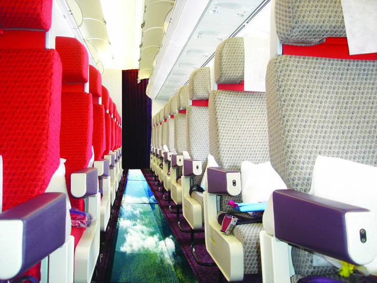 Virgin Introduces Glass Bottom Planes