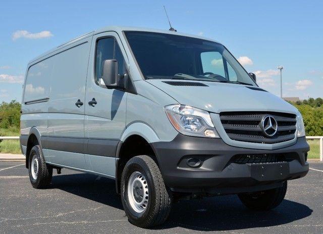 For Sale Mercedes Benz Sprinter 2500 Turbo Diesel 144 Cargo 4x4