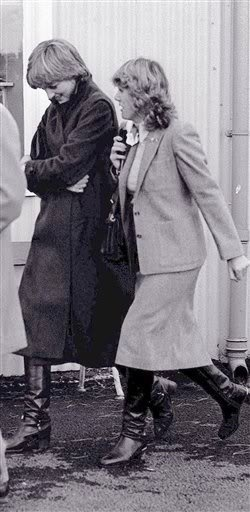 October 24, 1980 - Lady Diana With Camilla Parker-Bowles at Ludlow
