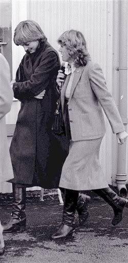 Lady Diana Spencer & Camilla Parker Bowles