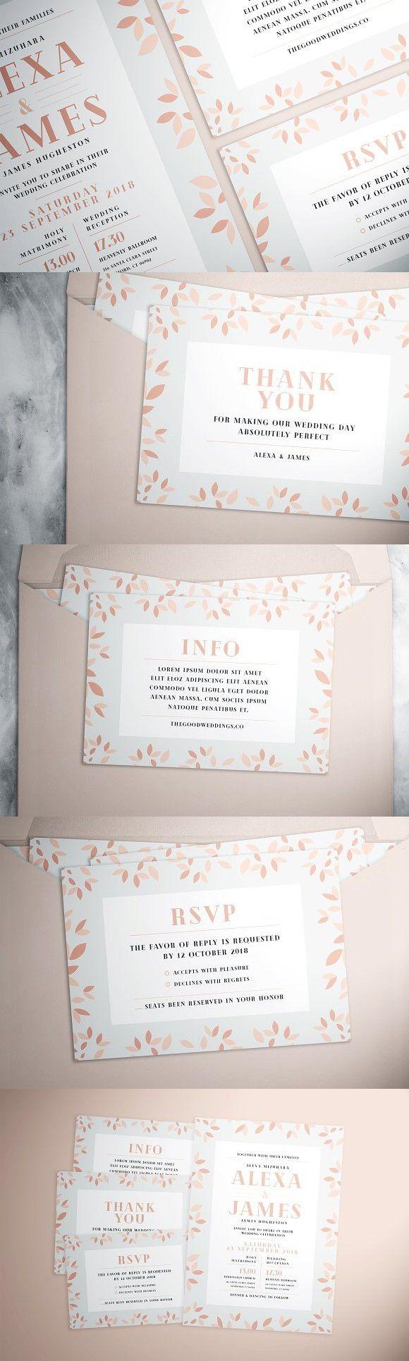 wedding card backgrounds vectors%0A Simple Flower Wedding Suite  Wedding Card Templates