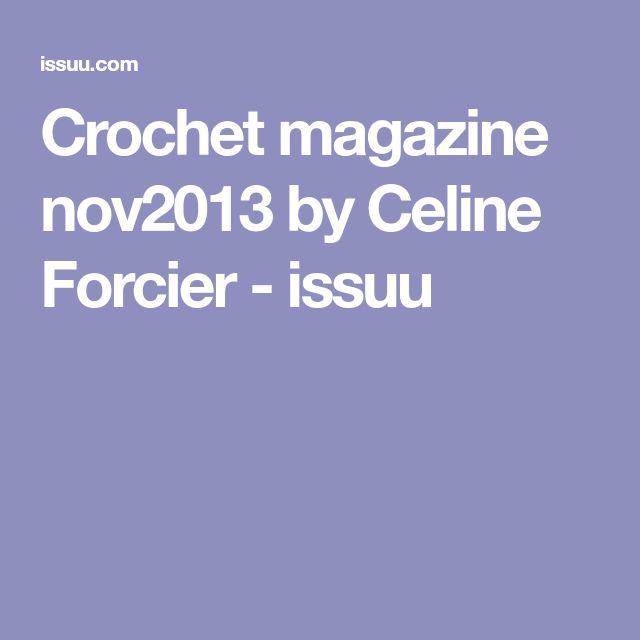 Crochet magazine nov2013 by Celine Forcier - issuu