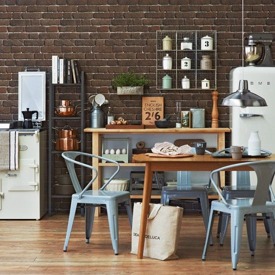 Introduce industrial style | Kitchen decorating ideas | Ideal Home | Housetohome.co.uk