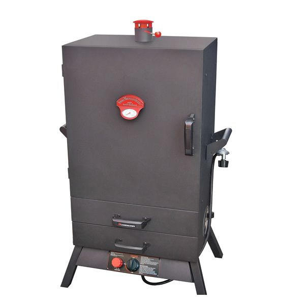"Landmann Smoky Mountain 38"" Wide Vertical Gas Smoker"