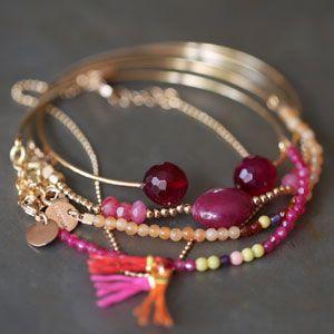 Bracelet India orange - 5 octobre