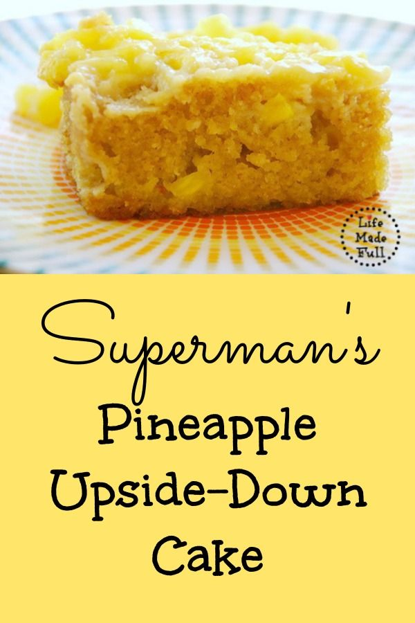 parkas Superman's Pineapple Upside Down Cake | Pineapple Upside Down, Pineapple Upside and Pineapple Upside Down Cake