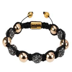 Nialaya bracelet handmade glass and gold: 425€