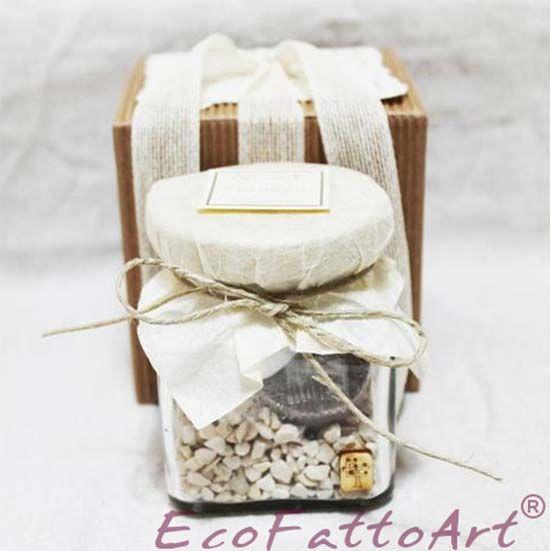 Bomboniera con semi da piantare. Wedding favor seeds. Vai sul blog per vedere tante altre bomboniere utili e originali! #misposoamodomio