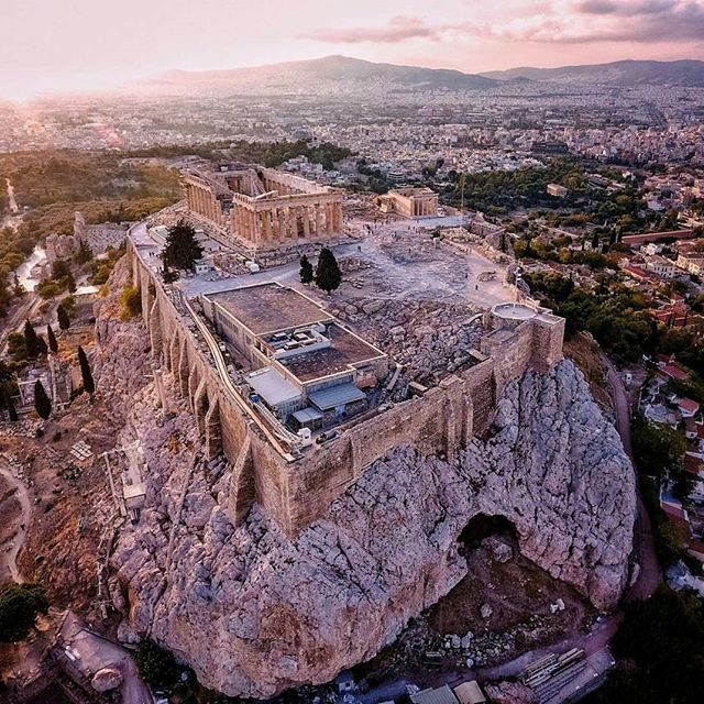 ATHENS. The cradle of Western civilization, the Parthenon, still looking beautiful over 2,500 years later. Photo by @lifeofsabin #greece #hellas #athens #parthenon #acropolis #greek #greeks #greeklife #greekgirl #ilovegreece #visitgreece