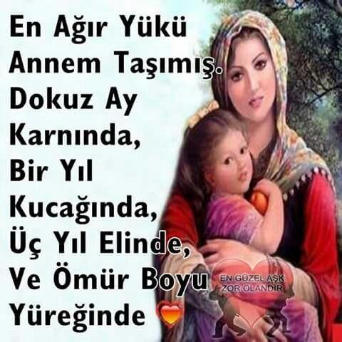Anne kalbi.....,