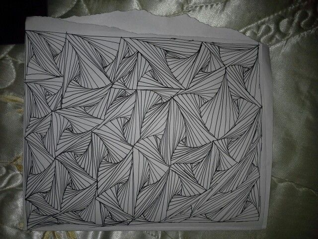 Zentangle....my 2nd attempt