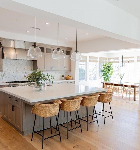 30 great farmhouse kitchen countertops design ideas and decor 02 | maanitech.com
